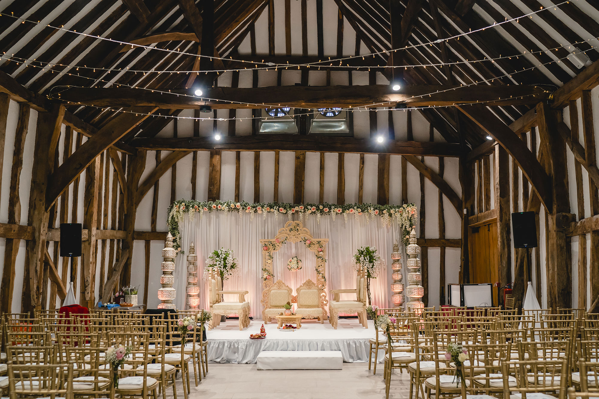 wedding decor hindu wedding the great barn
