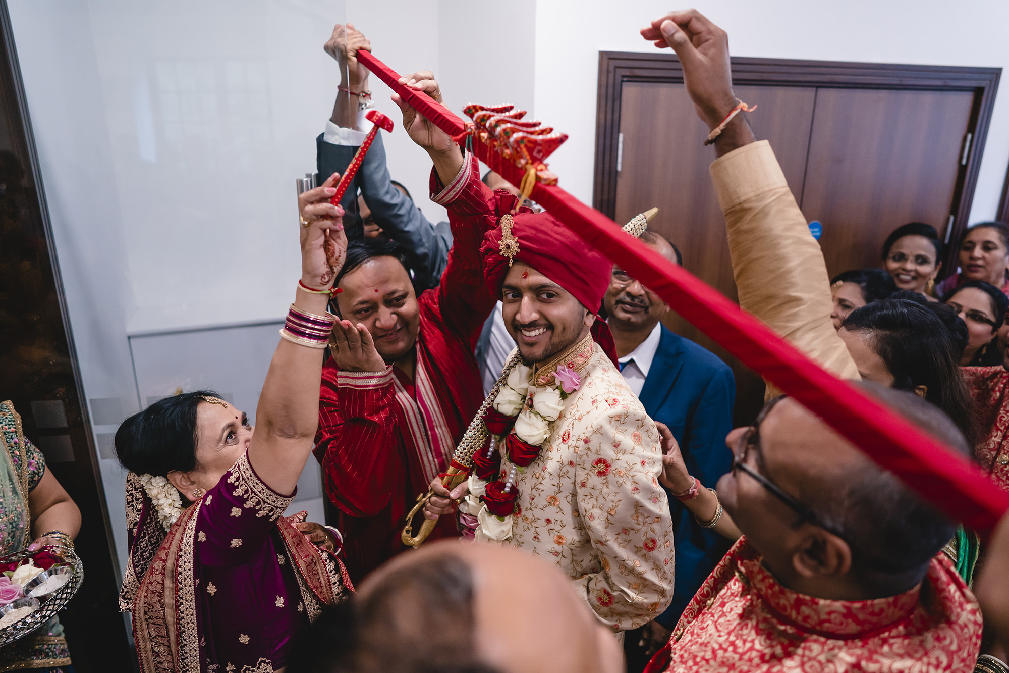 groom entrance for hindu wedding ceremony