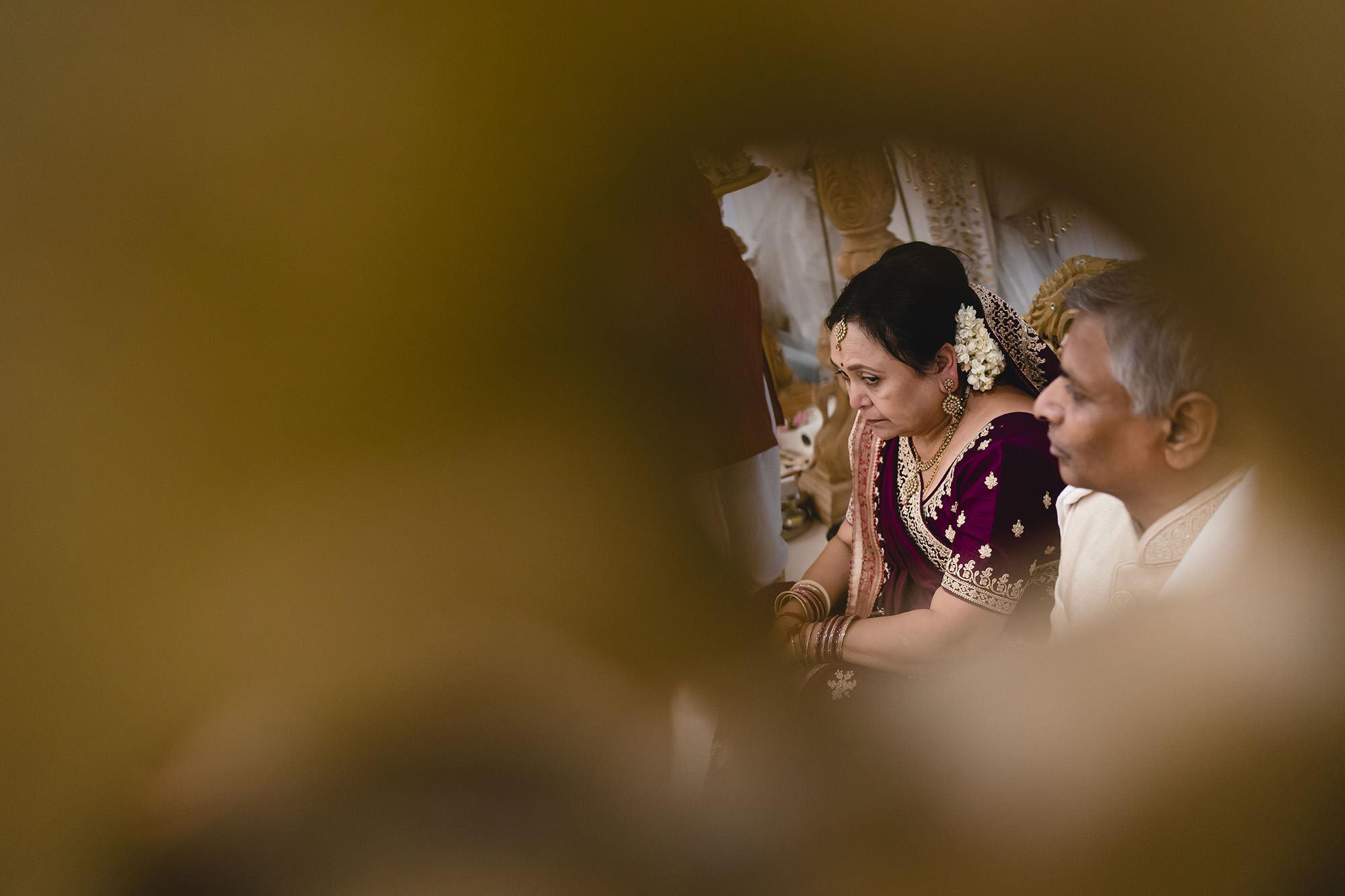 brides parents hindu wedding