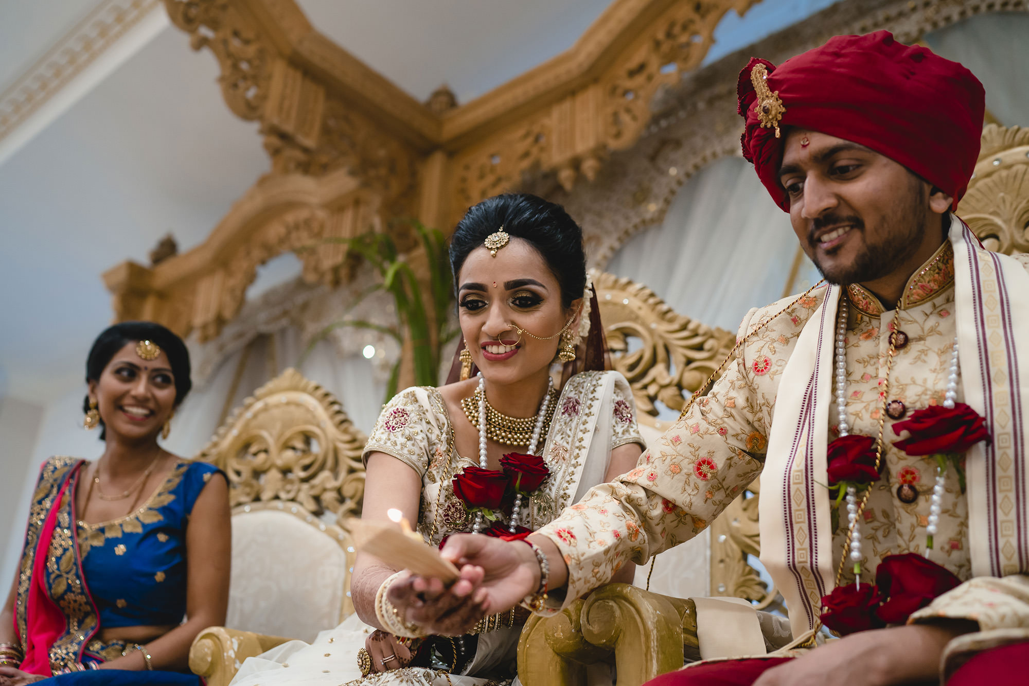 hindu wedding fire ceremony