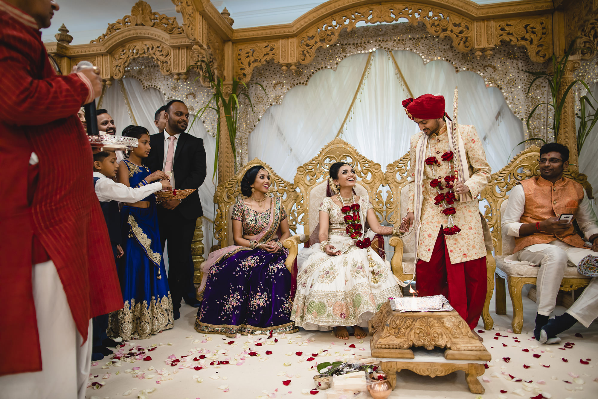 hindu wedding bride and groom games