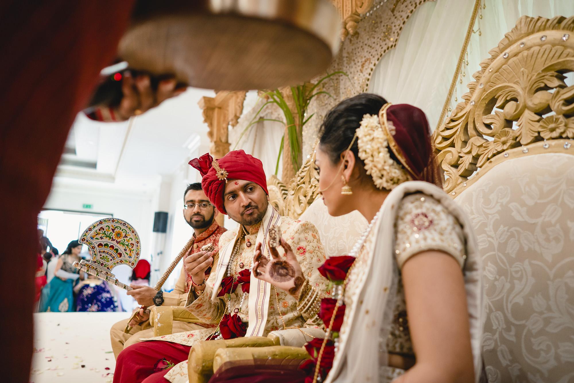 hindu wedding documentary ceremony picture