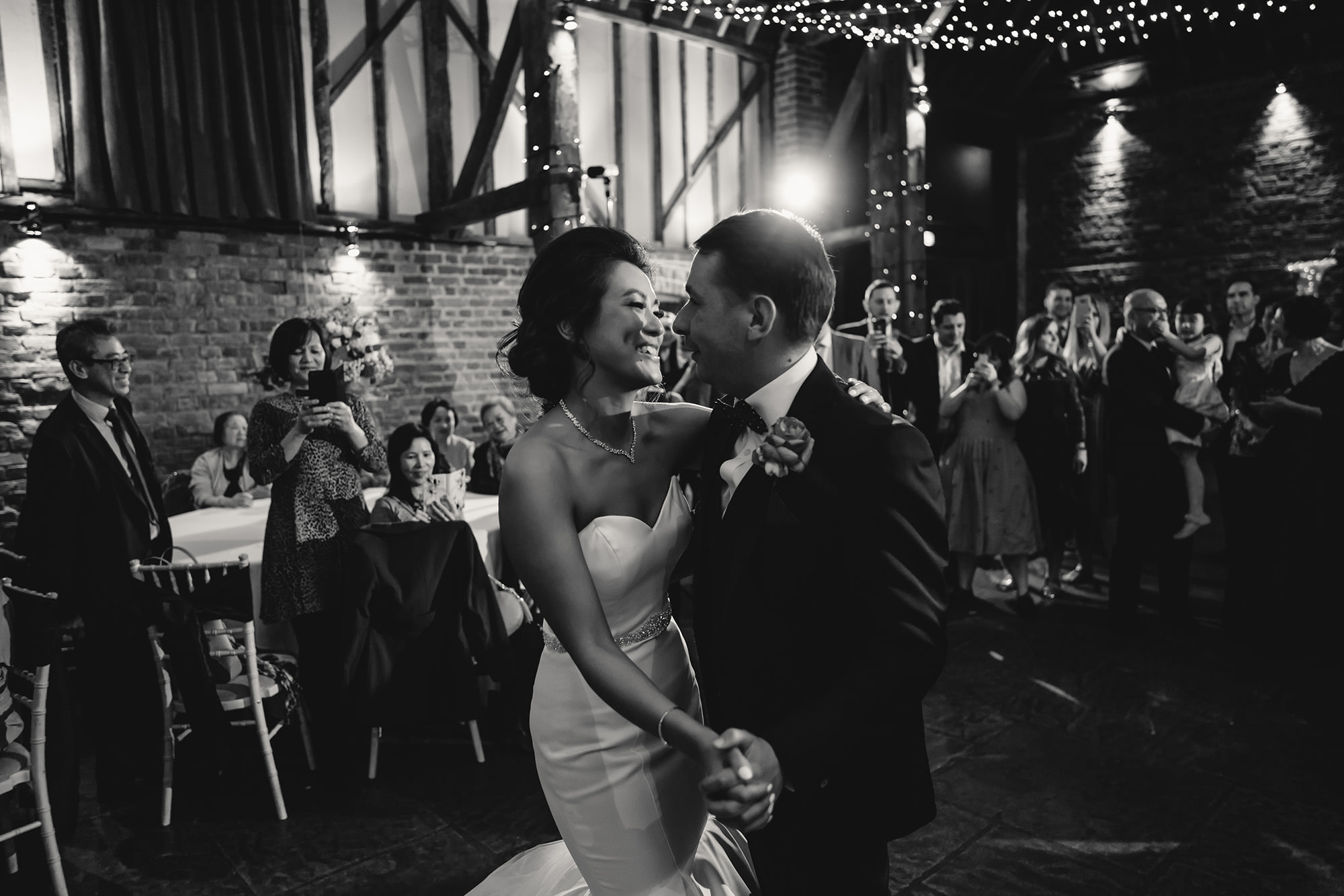 bride and groom first dance wedding reception