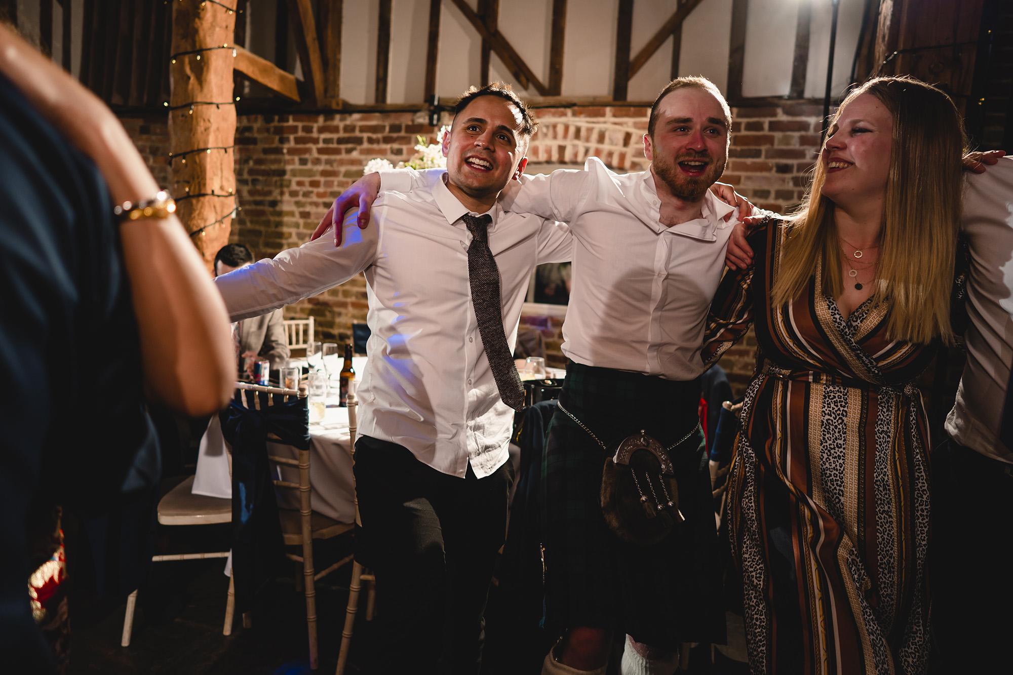 Reception Guests Dancing