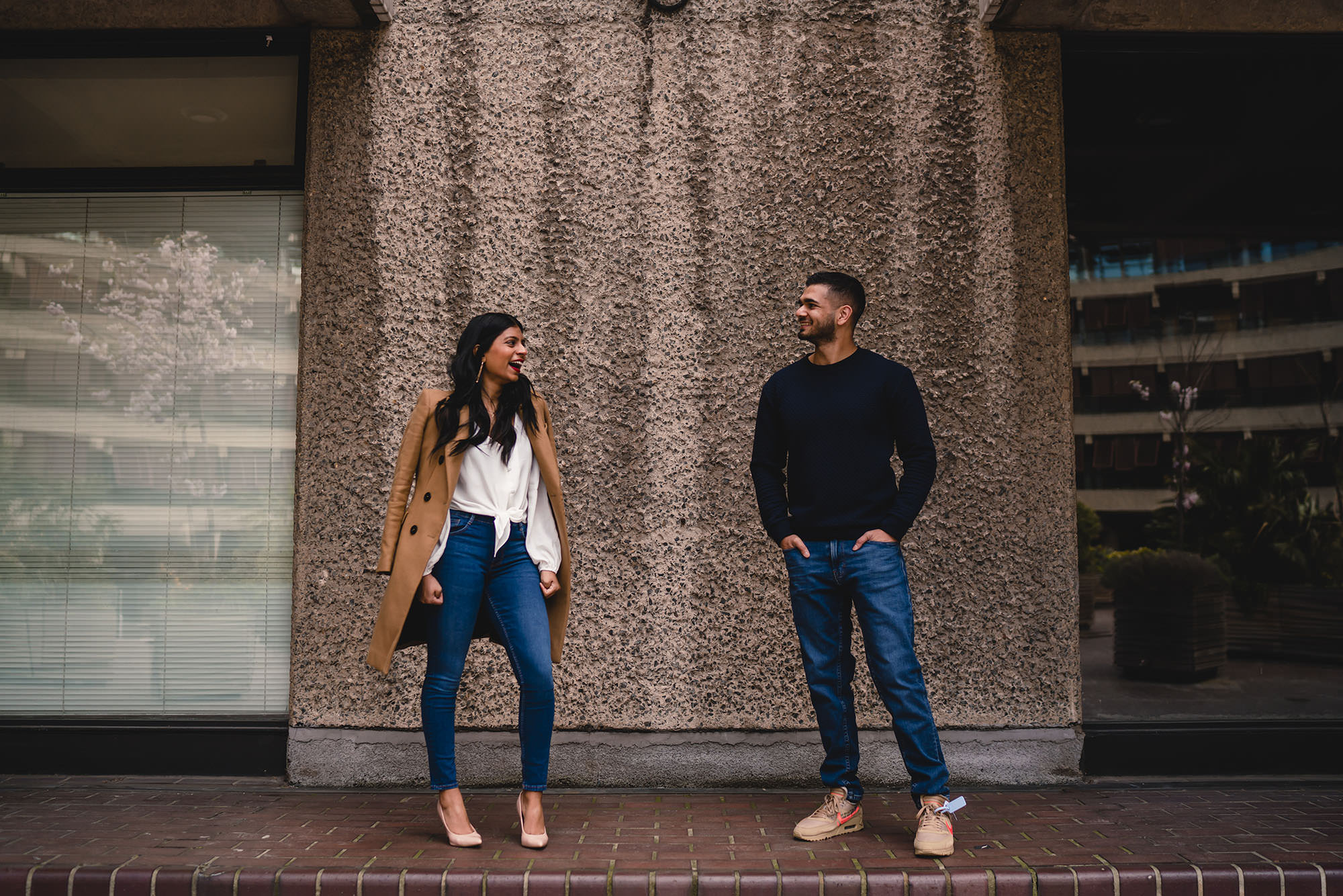 Prewedding shoot barbican london devan jigna