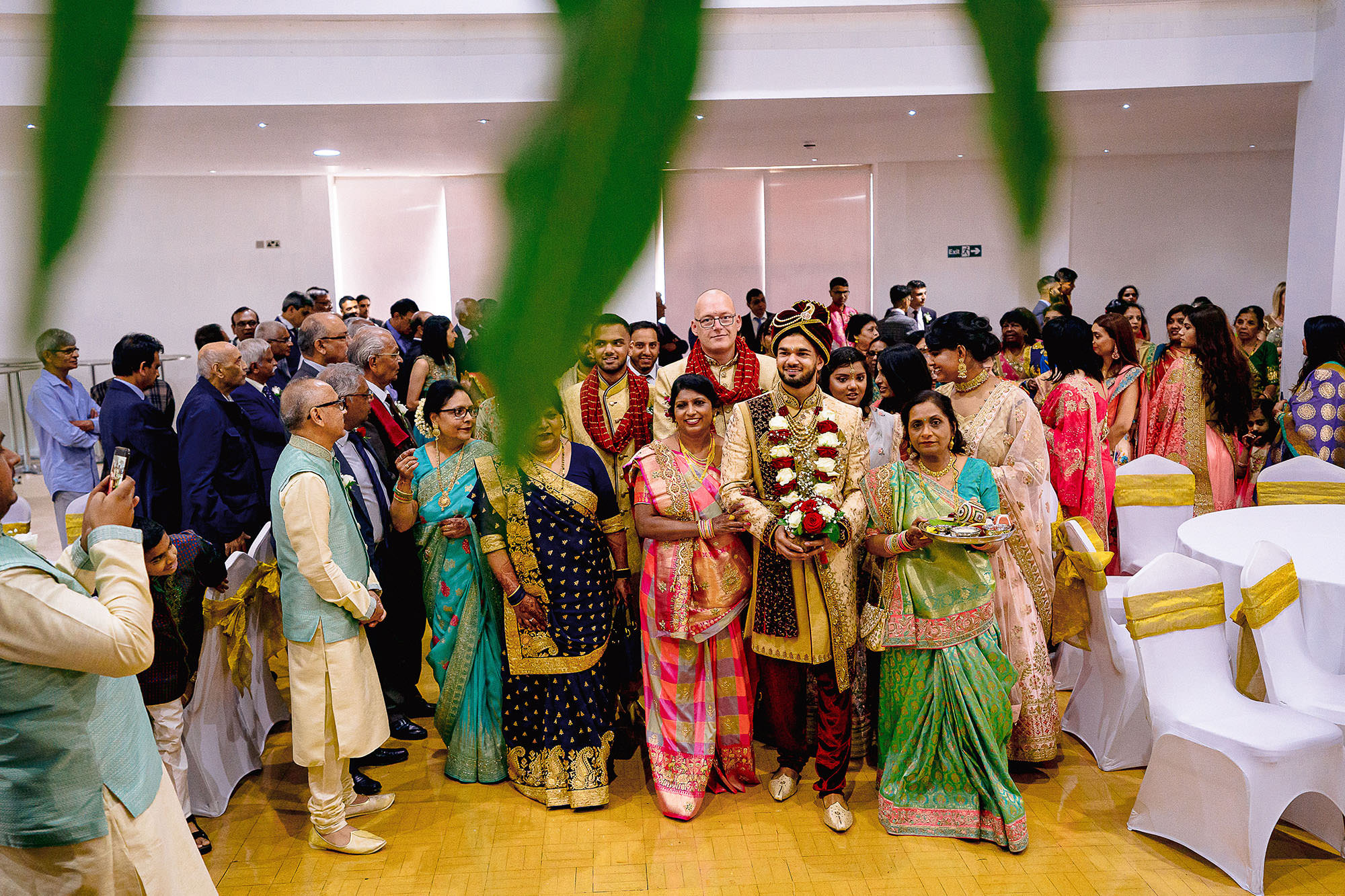 groom entrance hindu wedding leicester devan jigna