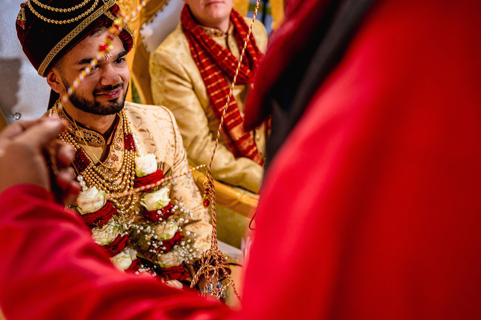 groom ceremony hindu wedding devan jigna