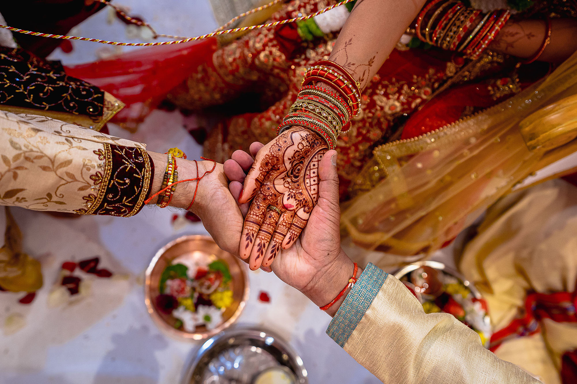 hindu wedding ceremony leicester devan jigna