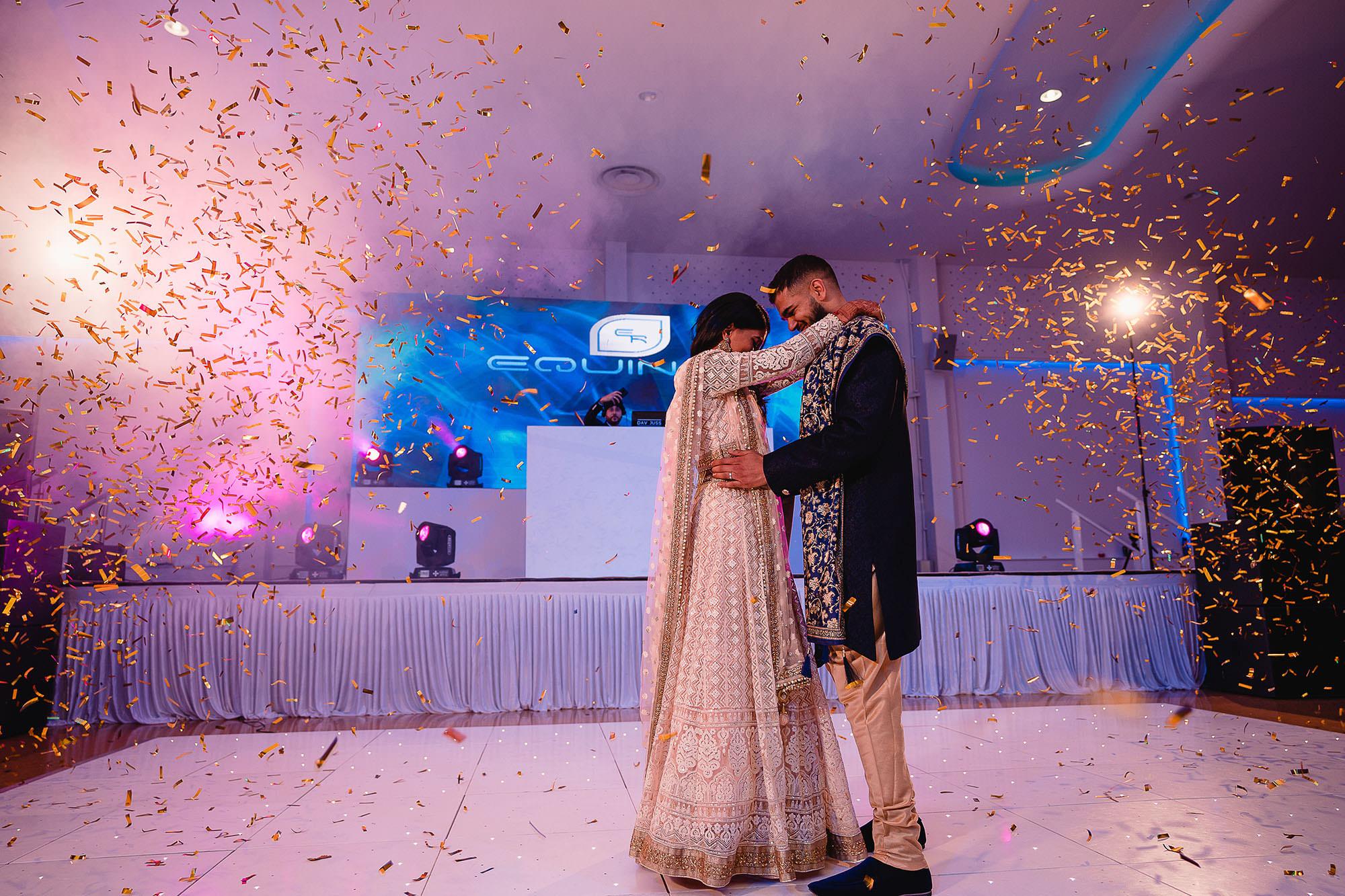 first dance natural wedding photography devan jigna