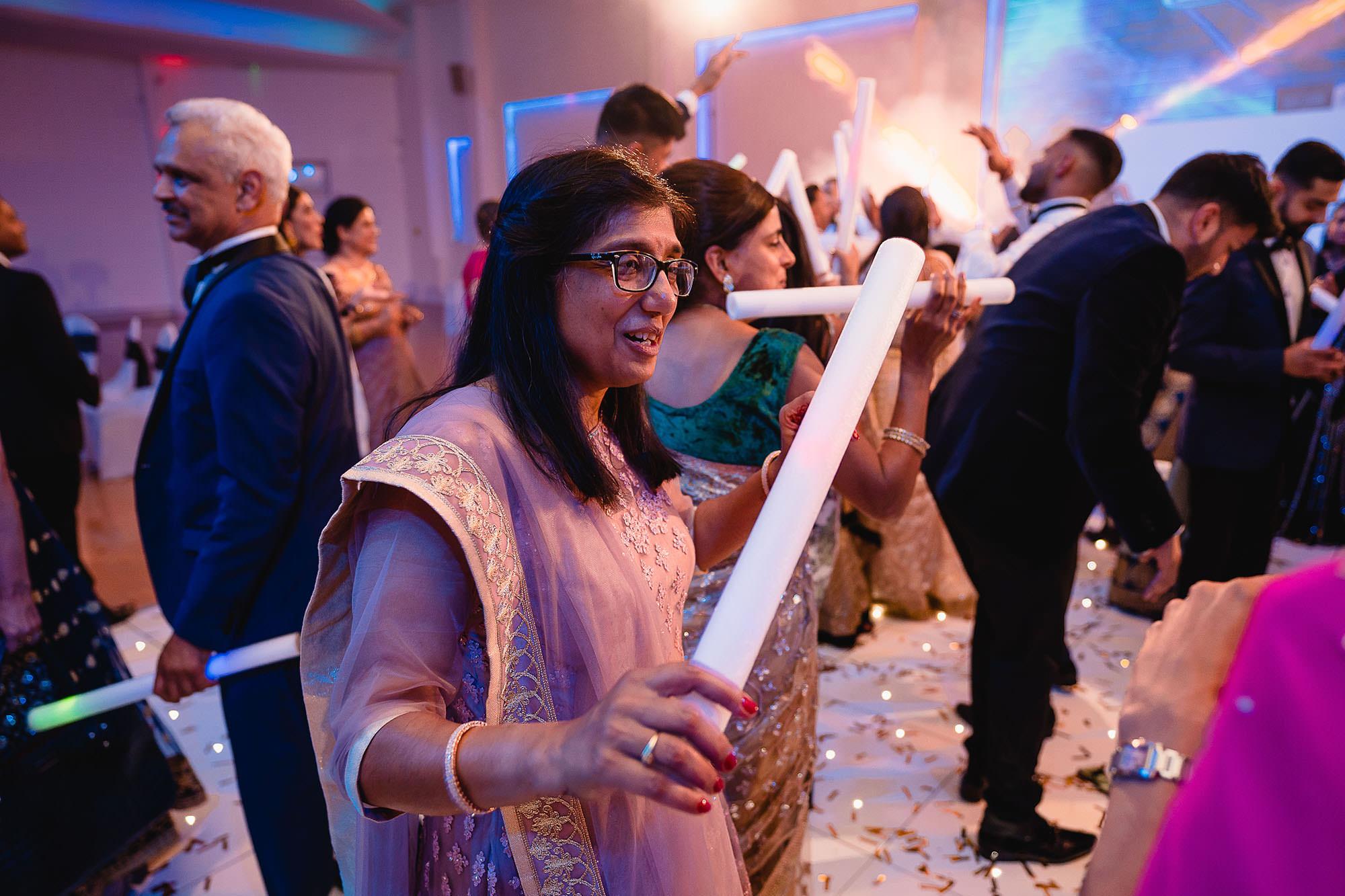 wedding reception party devan jigna