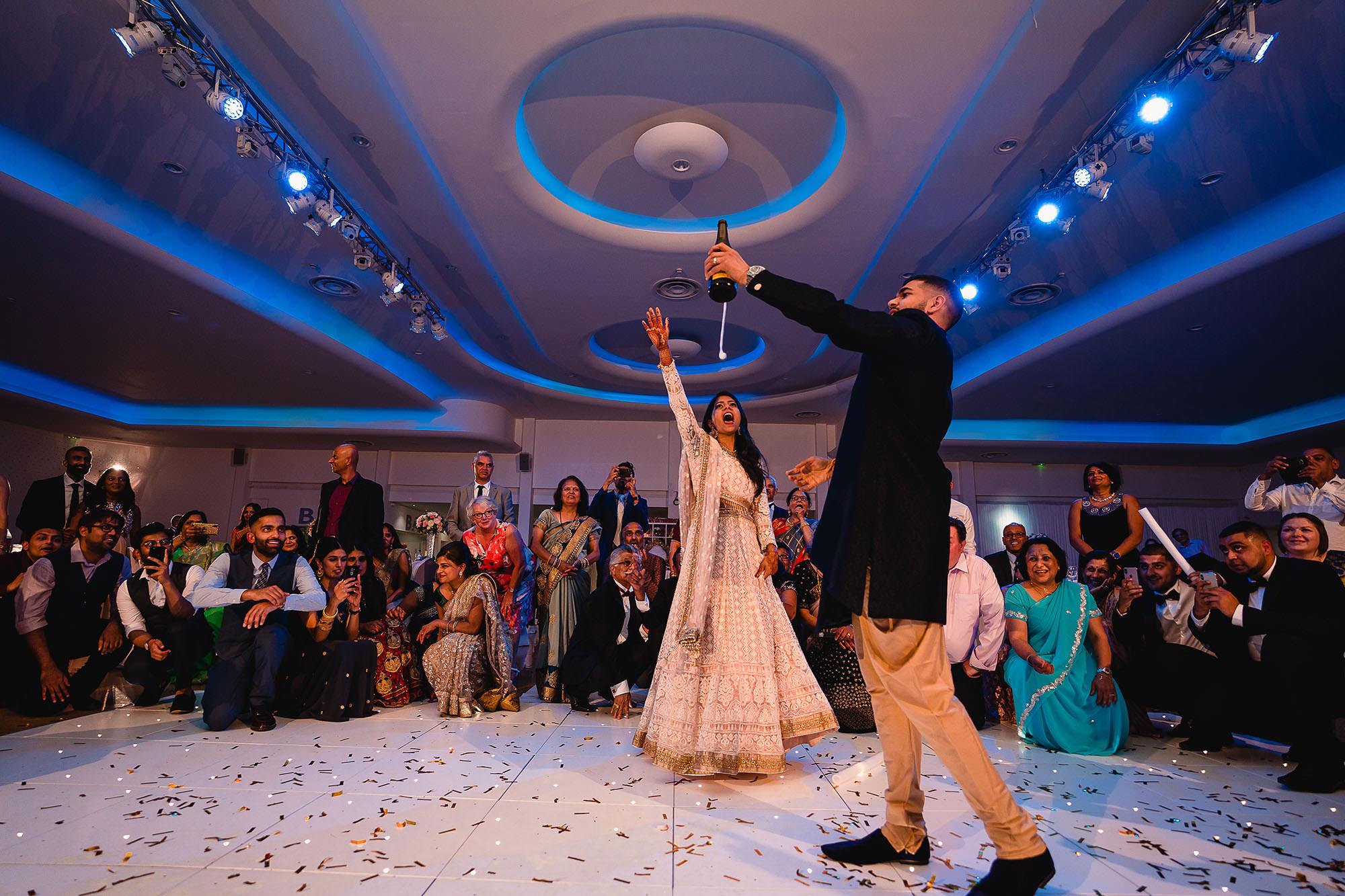 wedding photography reception parties devan jigna