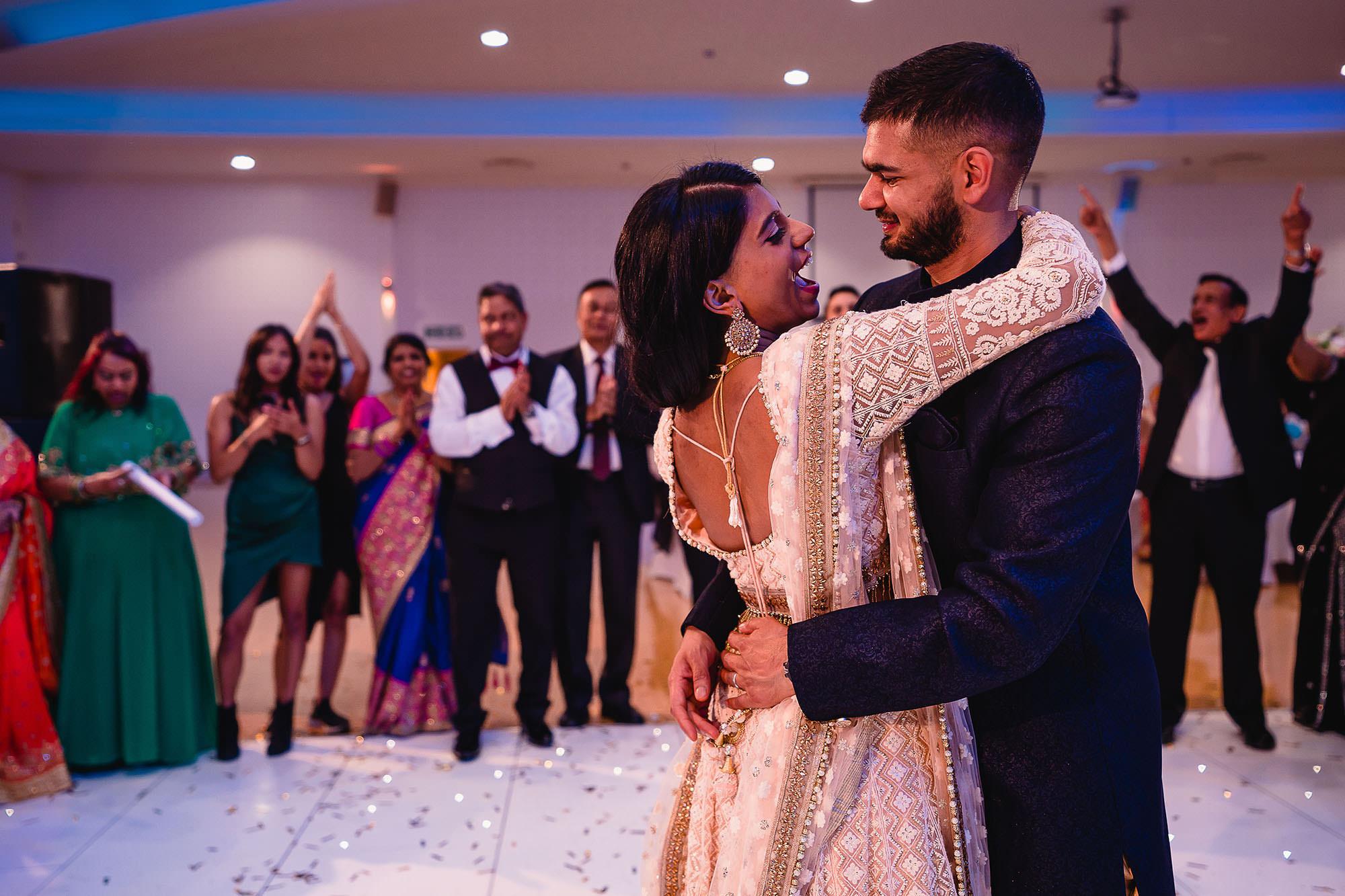 last dance hindu wedding reception devan jigna