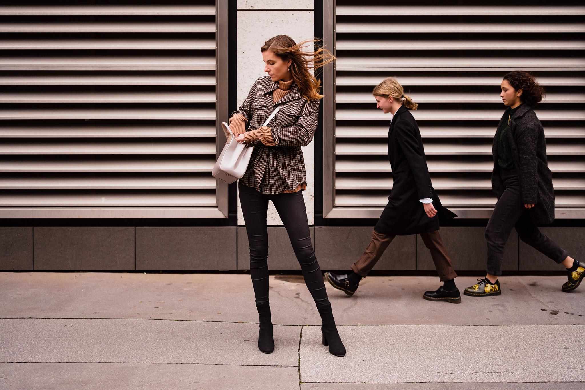 London street portrait photography
