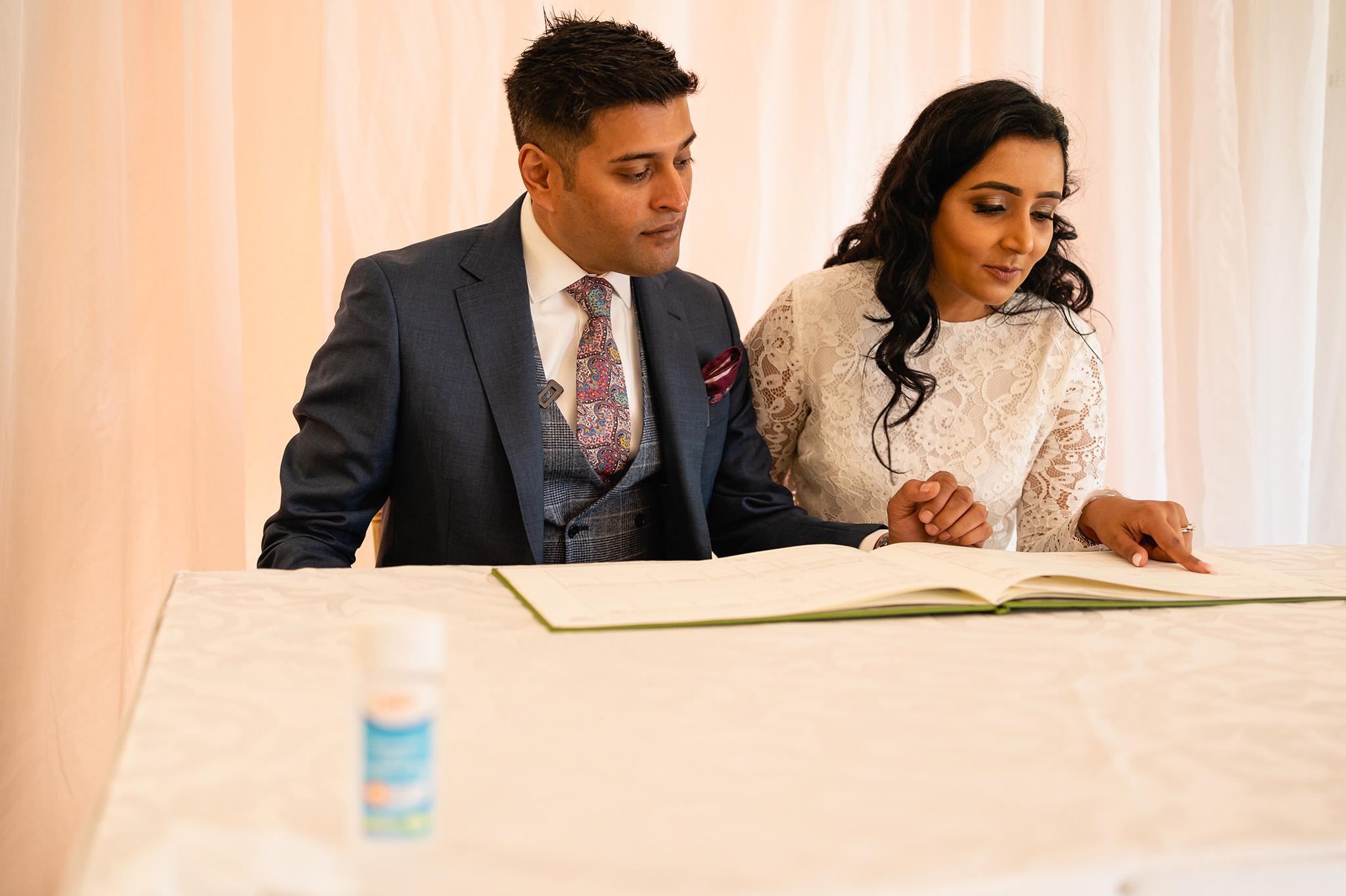covid wedding photography
