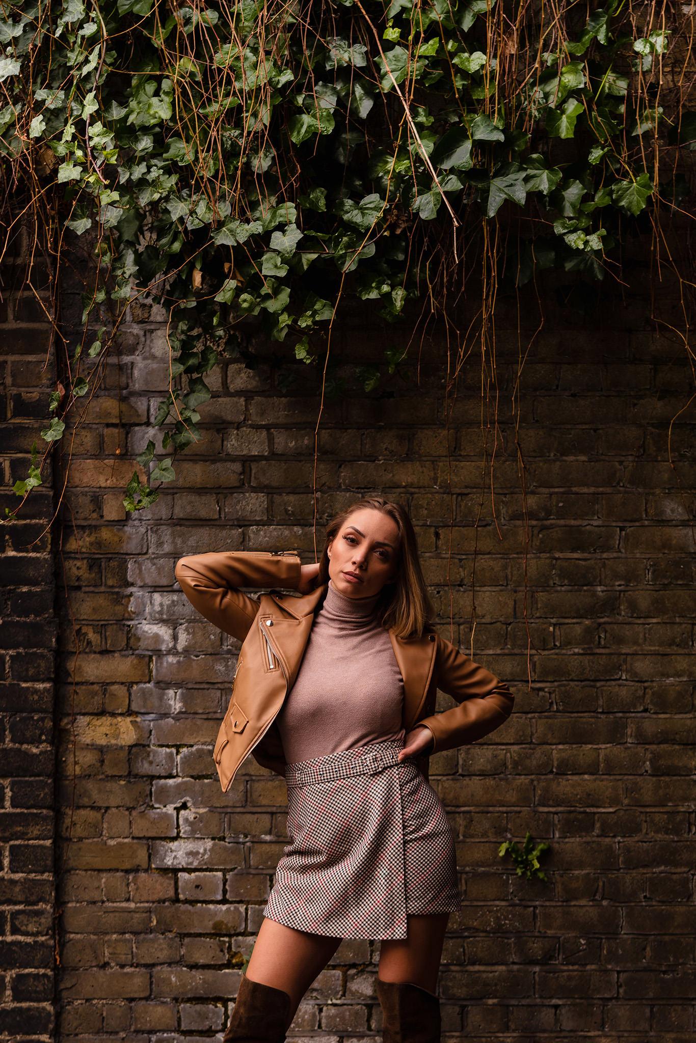 fashion instagram shoot