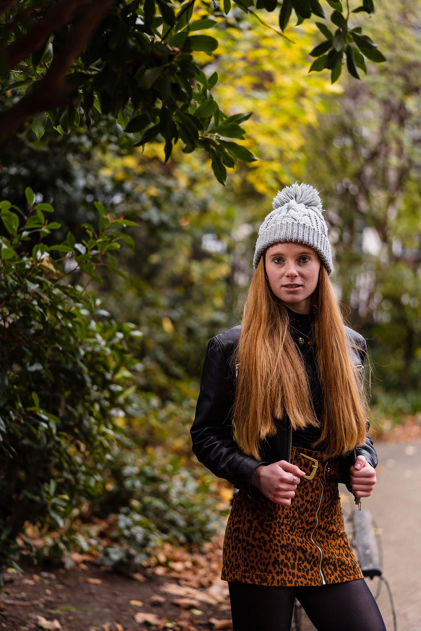 london model portfolio shoot