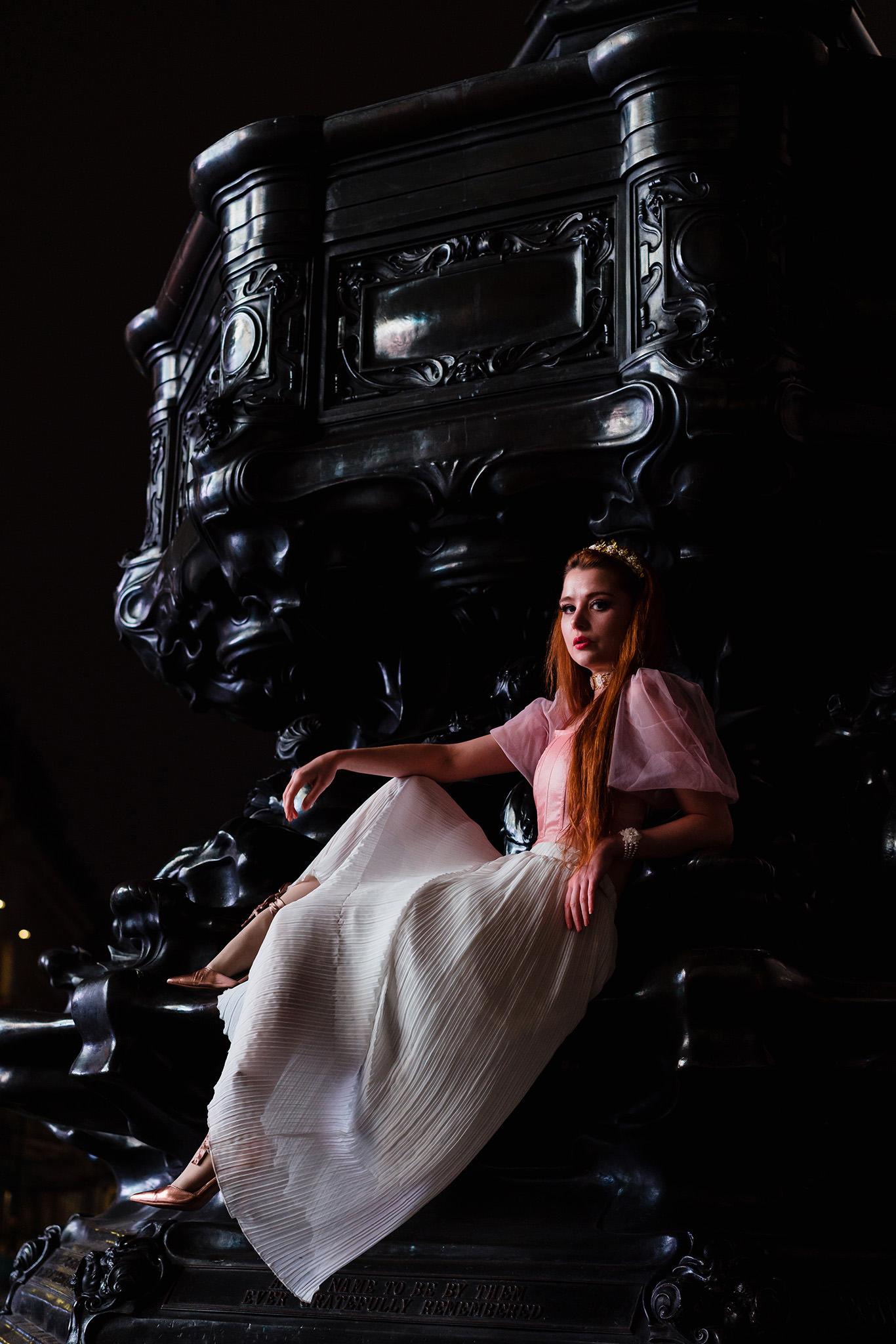 styled london portraits shoot