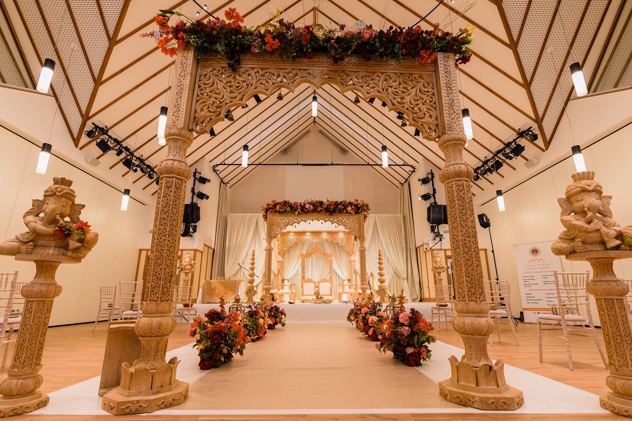 hindu wedding decor