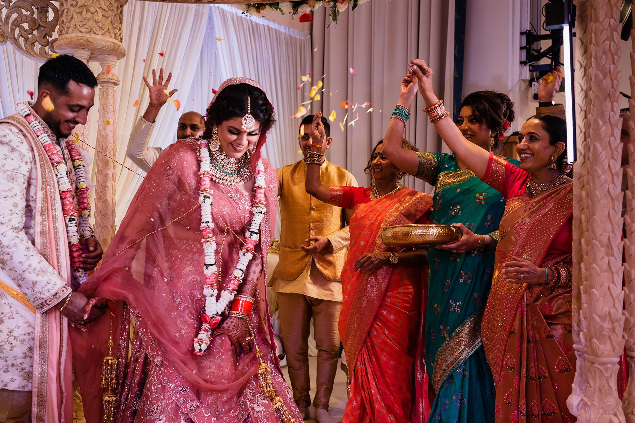 hare krishna wedding fera photo